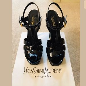 YSL Saint Laurent Tribute Patent Platform